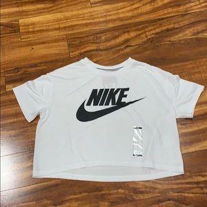 Nike crop top.